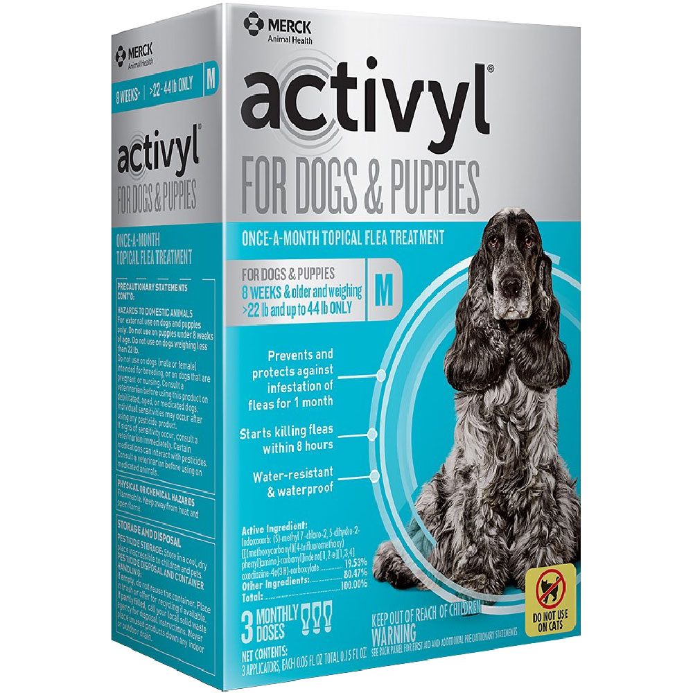 6 MONTH Activyl Spot-On for Medium Dogs & Puppies (22-44 lbs) im test