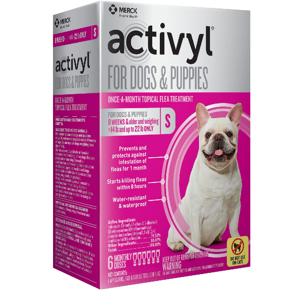 6 MONTH Activyl Spot-On for Small Dogs & Puppies (14-22 lbs) im test
