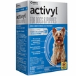 6 MONTH Activyl Spot-On for Toy Dogs & Puppies (4-14 lbs)