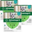 6 MONTH Advantage II Flea Control for Kittens (2-5 lbs)
