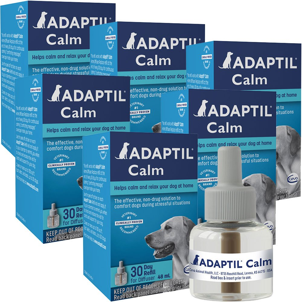 Image of 6 PACK ADAPTIL Calm Home Diffuser Refill for Dogs (288mL)