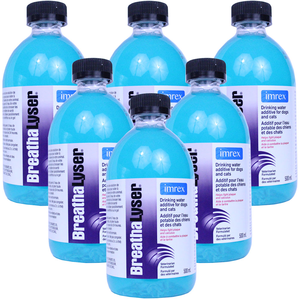 Image of 6-PACK Breathalyser Water Additive (3000 mL)