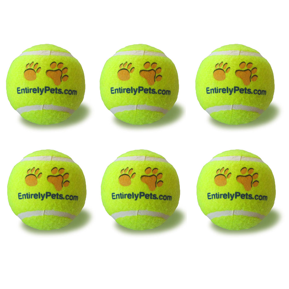"""EntirelyPets Tuff Balls Tennis Ball 6-Pack (2.5"""")"" im test"