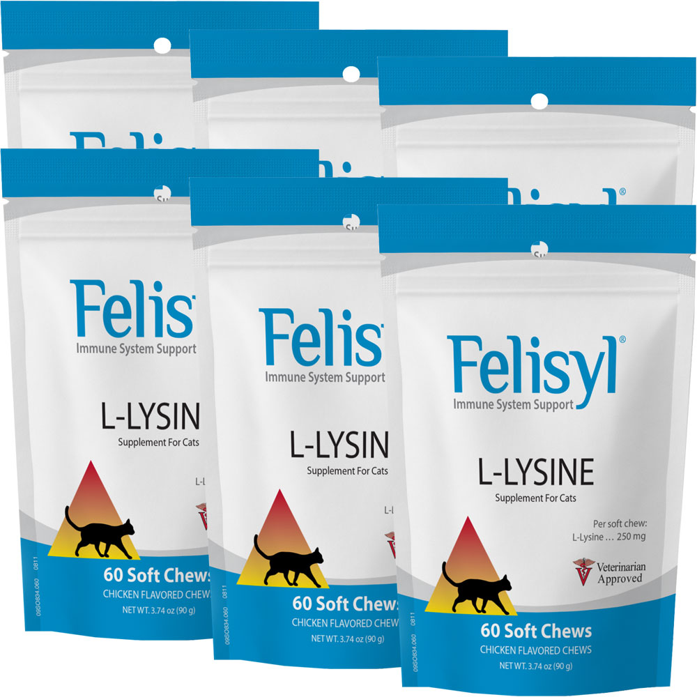 Image of 6-PACK Felisyl Immune System Support (360 Soft Chews)