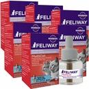 6-PACK FELIWAY MultiCat Refill for Cats (288 ml)