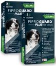 6-PACK Fiproguard Plus Flea & Tick Squeeze-On for Dogs 23-44 lbs