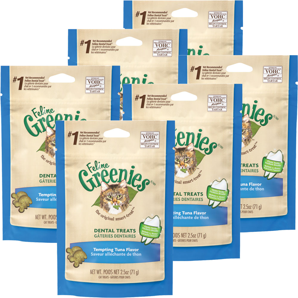 Greenies Feline Dental Treats - Tempting Tuna Flavor 6-Pack (15 oz) im test