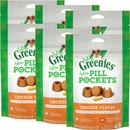 Greenies Pill Pockets for Cats Chicken Formula 6-Pack 9.6 oz (270 count)