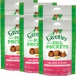 Greenies Pill Pockets for Cats Salmon Formula 6-Pack 9.6 oz (270 count)