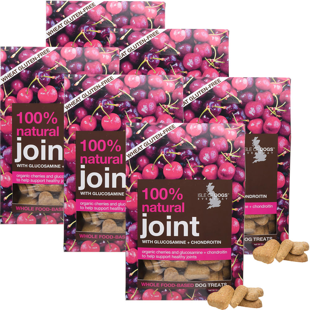 6-PACK Isle of Dogs 100% Natural Joint Dog Treats (72 oz) im test