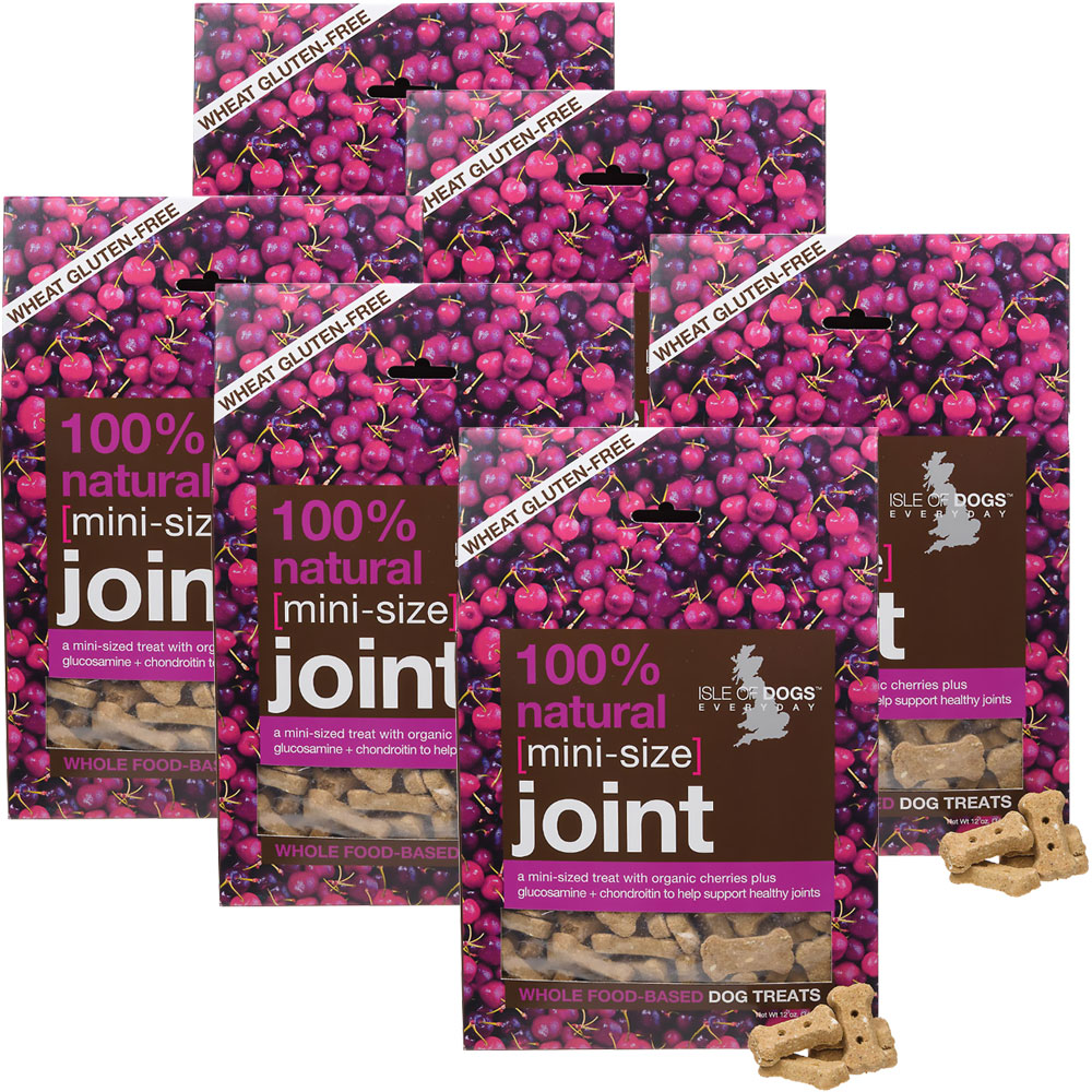 6-PACK Isle of Dogs 100% Natural Joint Dog Treats - Mini Size (72 oz) im test