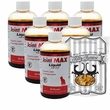 6-PACK Joint MAX Liquid for Cats (48 fl oz) + FREE Kitty Kuisine