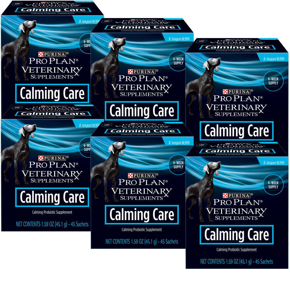 Image of 6-PACK Purina Pro Plan Veterinary Supplements Calming Care (270 Sachets)