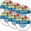6-PACK Seresto Flea & Tick Collar for Large Dogs