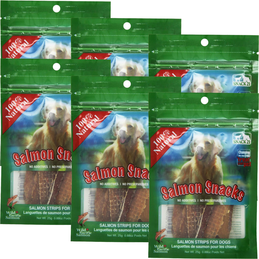 Snack 21 Salmon Snacks for Dogs 6-PACK (150 g) im test