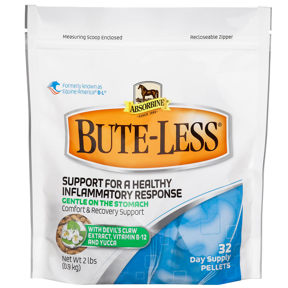 Absorbine Bute-Less Comfort and Recovery Support Pellets, 2lb im test
