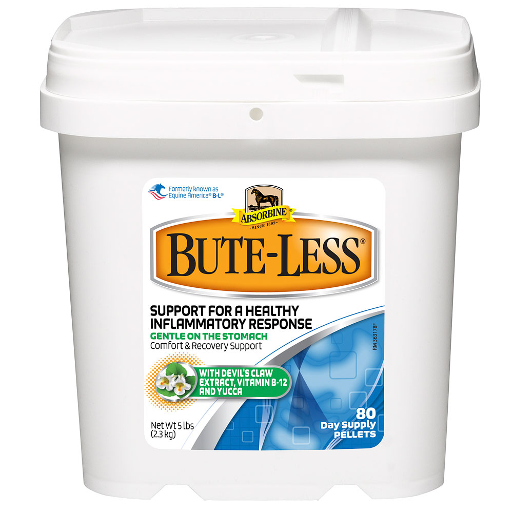 Absorbine Bute-Less Comfort and Recovery Support Pellets, 5lb im test