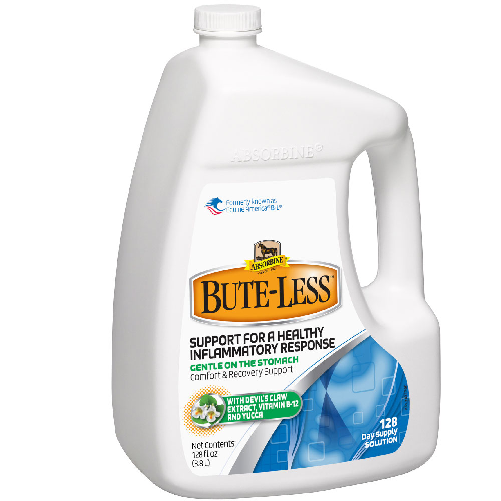 Absorbine Bute-Less Comfort and Recovery Support Solution, 1 Gallon im test