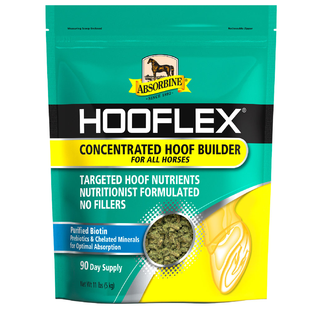 Absorbine Hooflex Concentrated Hoof Builder, 11lb im test