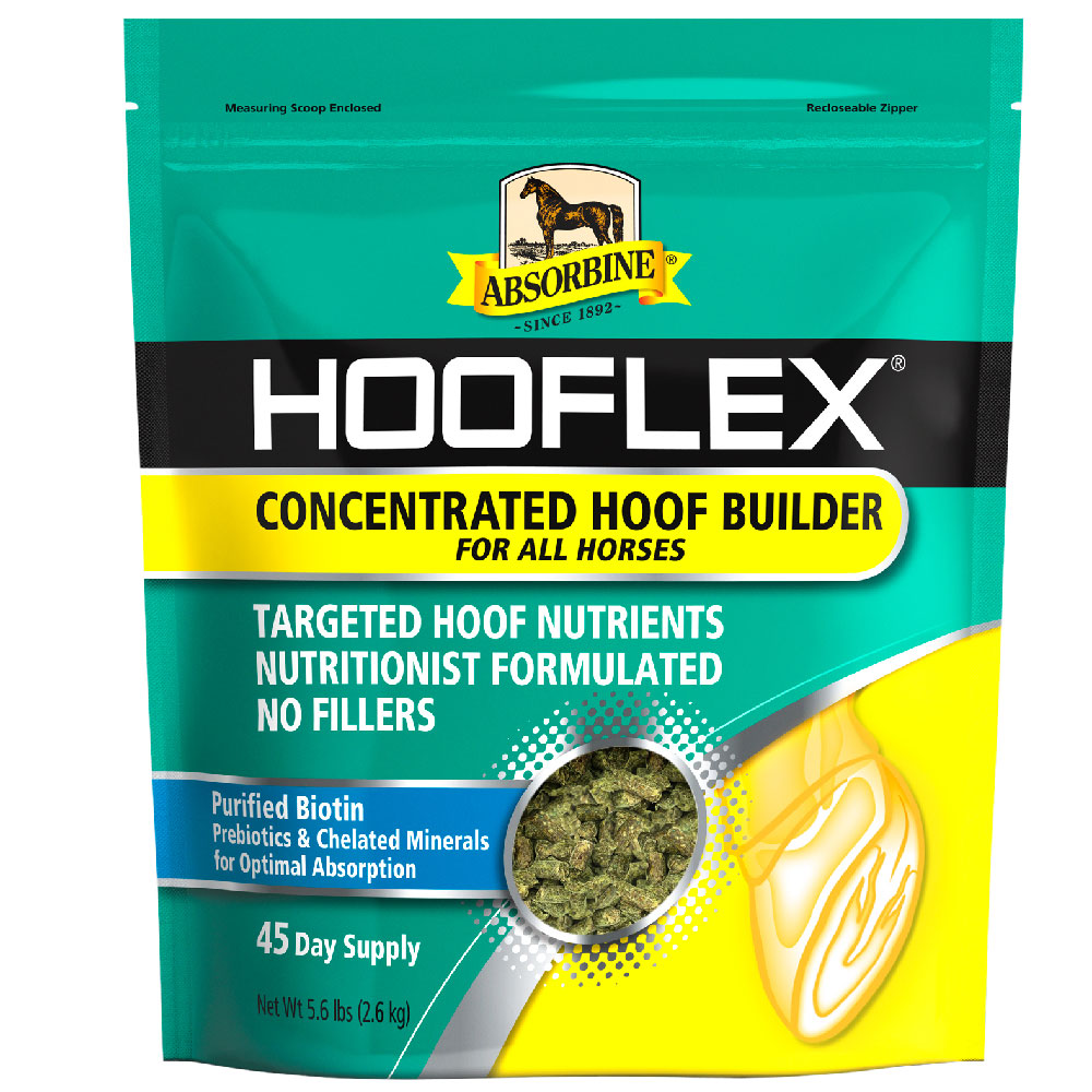 Absorbine Hooflex Concentrated Hoof Builder, 5.6lb im test