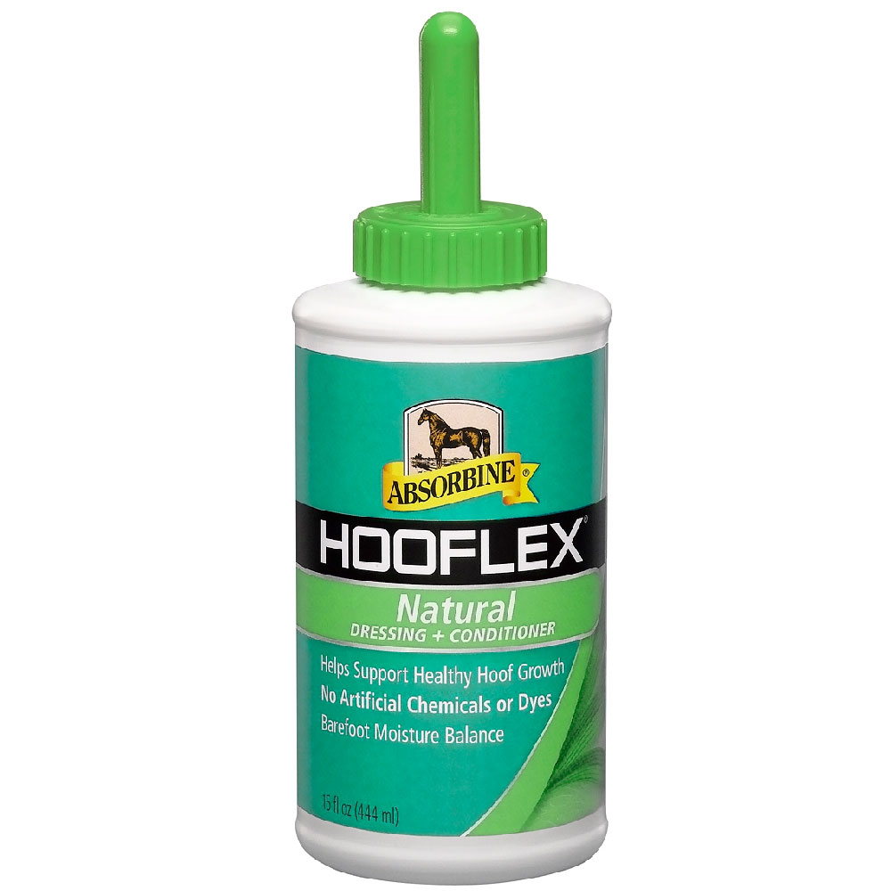 Absorbine Hooflex Natural Dressing and Conditioner with Brush, 15oz im test
