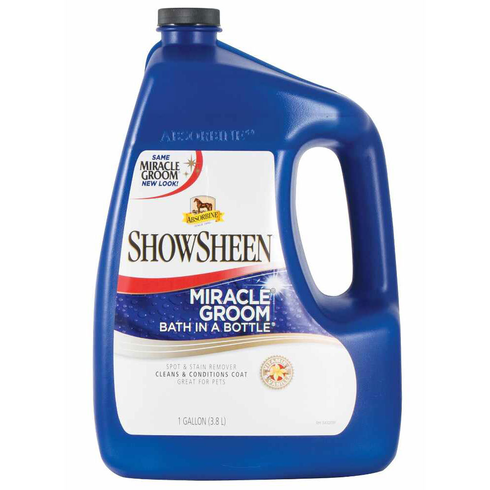 Image of Absorbine ShowSheen Miracle Groom Bath in a Bottle (1 Gallon)