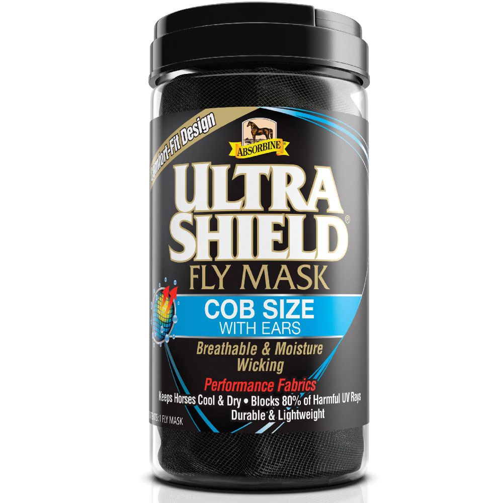 Absorbine UltraShield Fly Mask, Cob Size with Ears im test