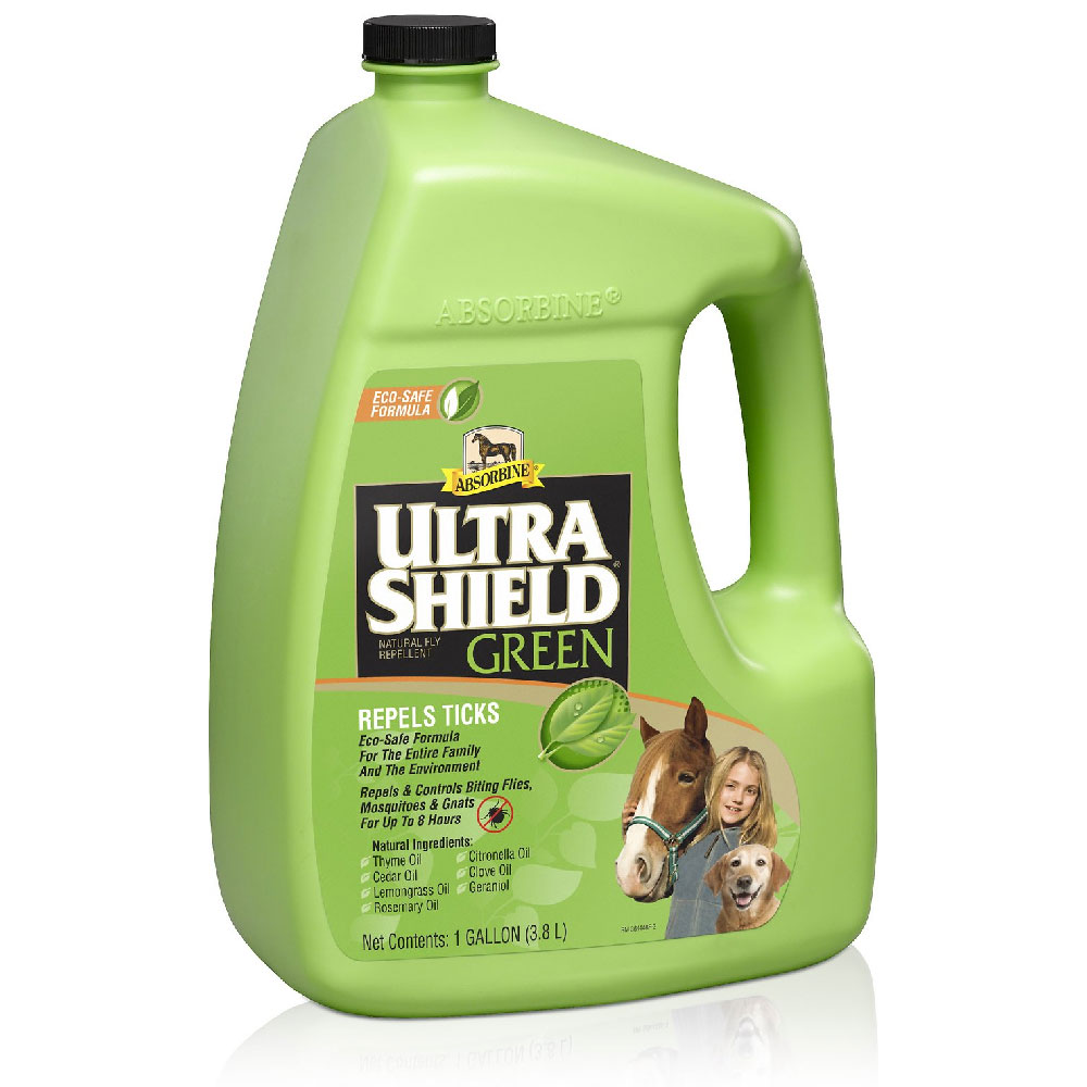 Image of Absorbine UltraShield Green Fly Repellent (1 Gallon)