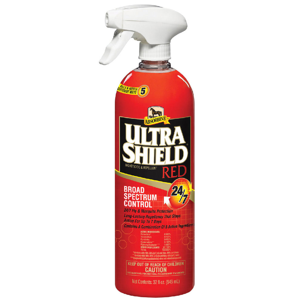 Absorbine UltraShield Red Broad Spectrum Control Spray, 32oz im test