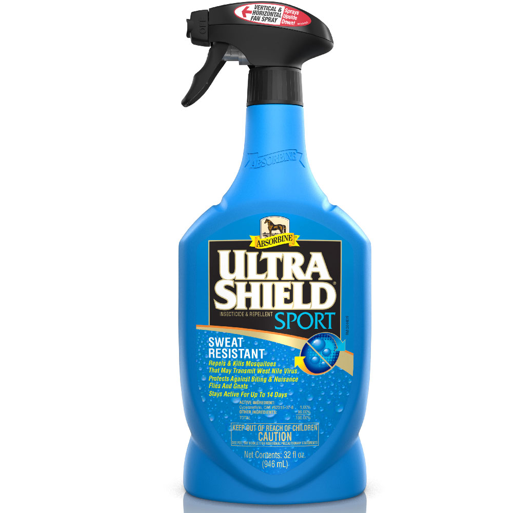 Absorbine UltraShield Sport Sweat Resistant Insecticide and Repellent Spray, 32oz im test