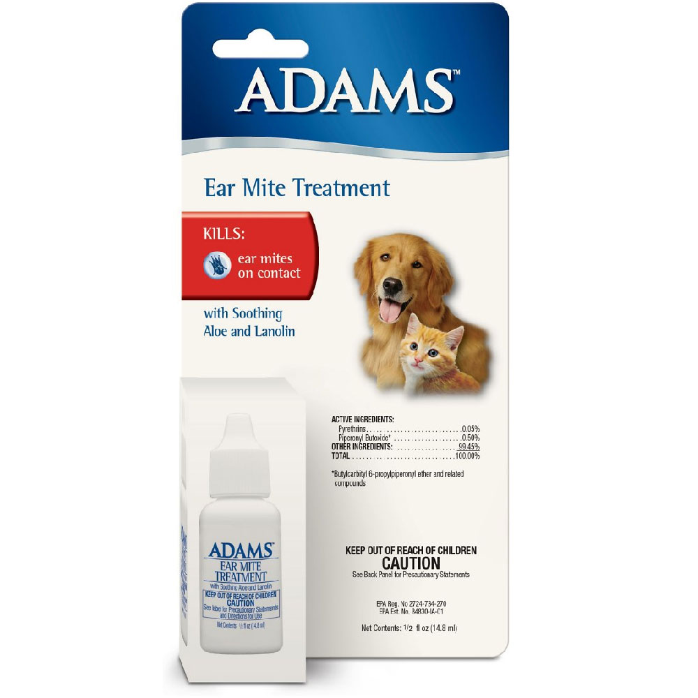Adams Ear Mite Treatment, 0.5oz im test