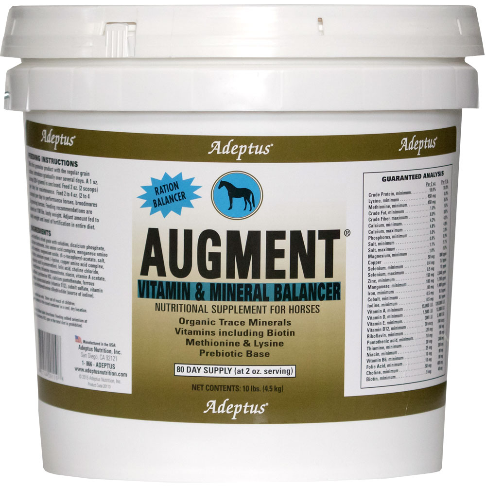 Adeptus Augment Vitamin & Mineral Balancer for Horses (10 lbs) im test