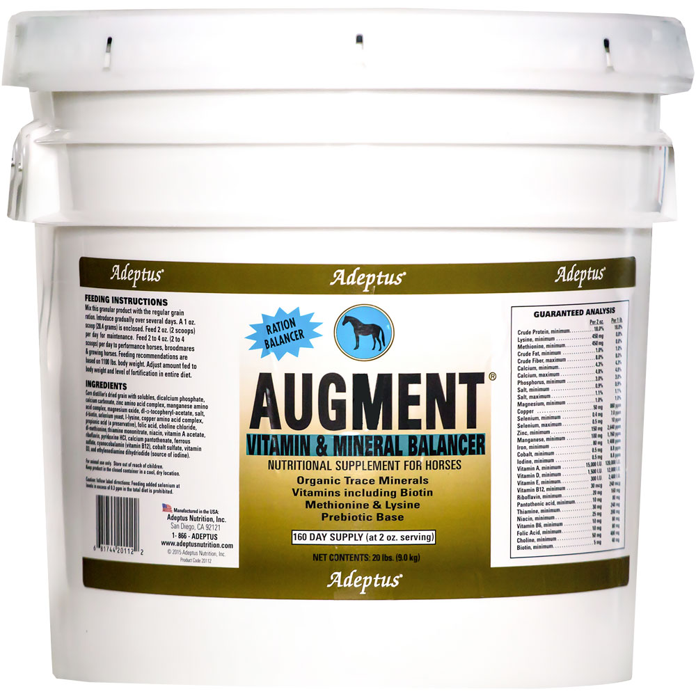 Adeptus Augment Vitamin & Mineral Balancer for Horses (20 lbs) im test