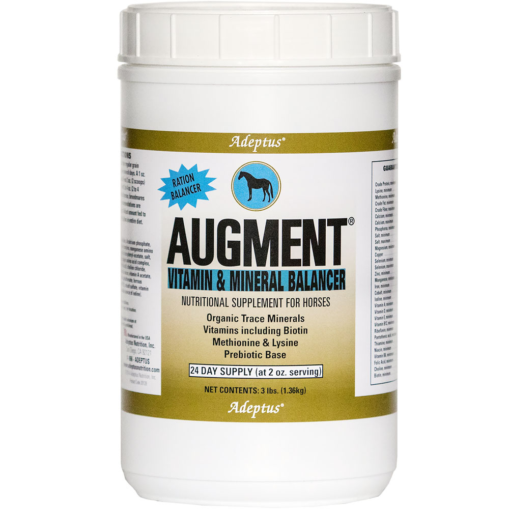 Adeptus Augment Vitamin & Mineral Balancer for Horses (3 lbs) im test