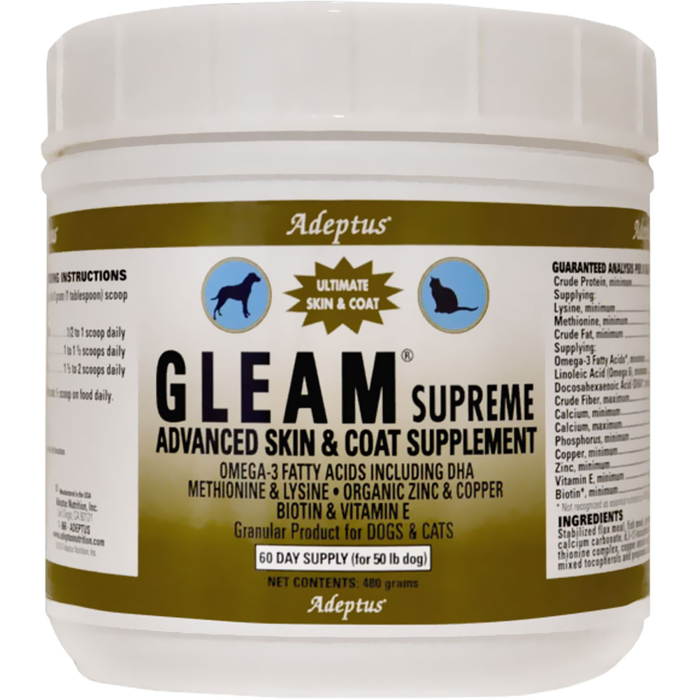 Adeptus Gleam Supreme for Pets (480 gram) im test