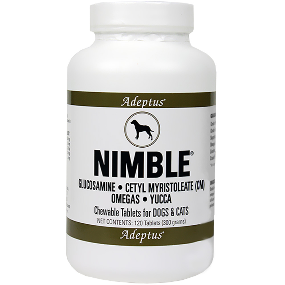 Adeptus Nimble Joint Support for Pets (120 tablets) im test