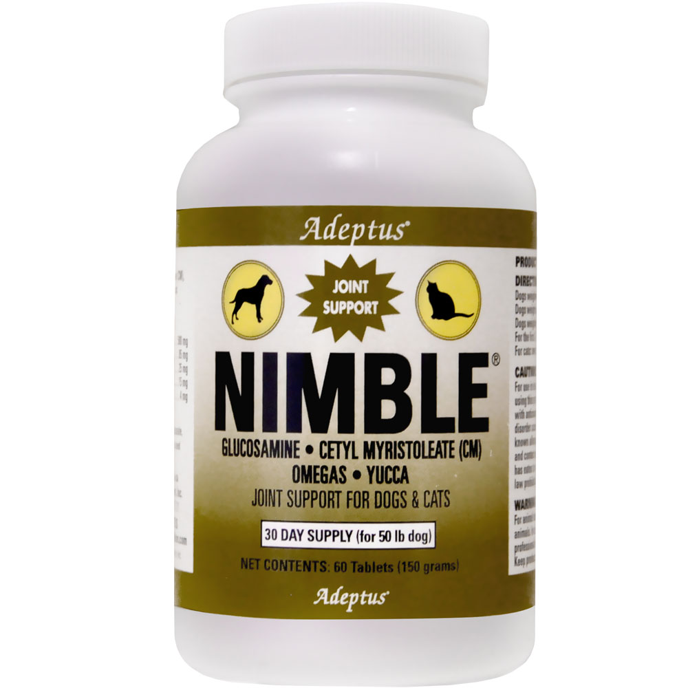 Adeptus Nimble Joint Support for Pets (60 tablets) im test