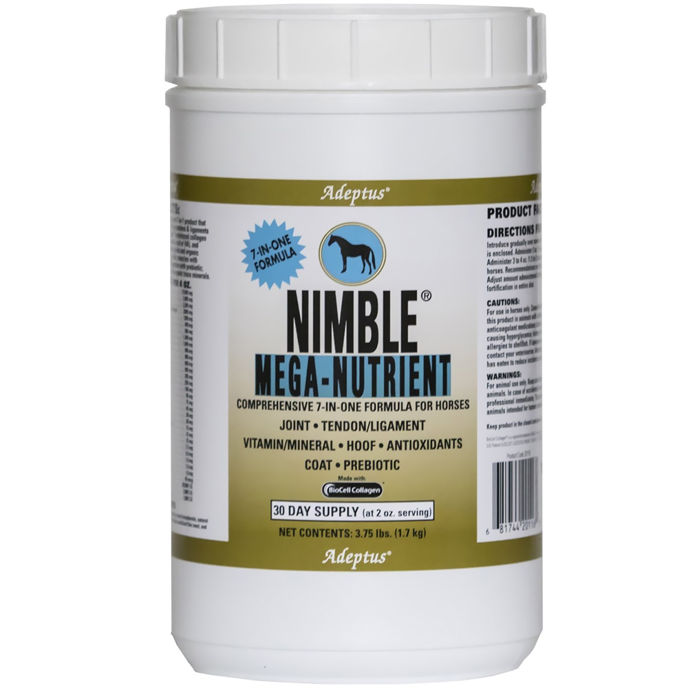 Adeptus Nimble Mega-Nutrient 7-In-One Formula for Horses (3.75 lbs) im test