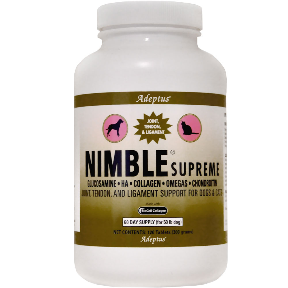 NIMBLE-SUPREME-PETS-120-TABLETS