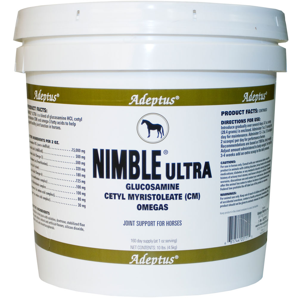 Image of Adeptus Nimble Ultra Joint Support for Horses (10 lbs)