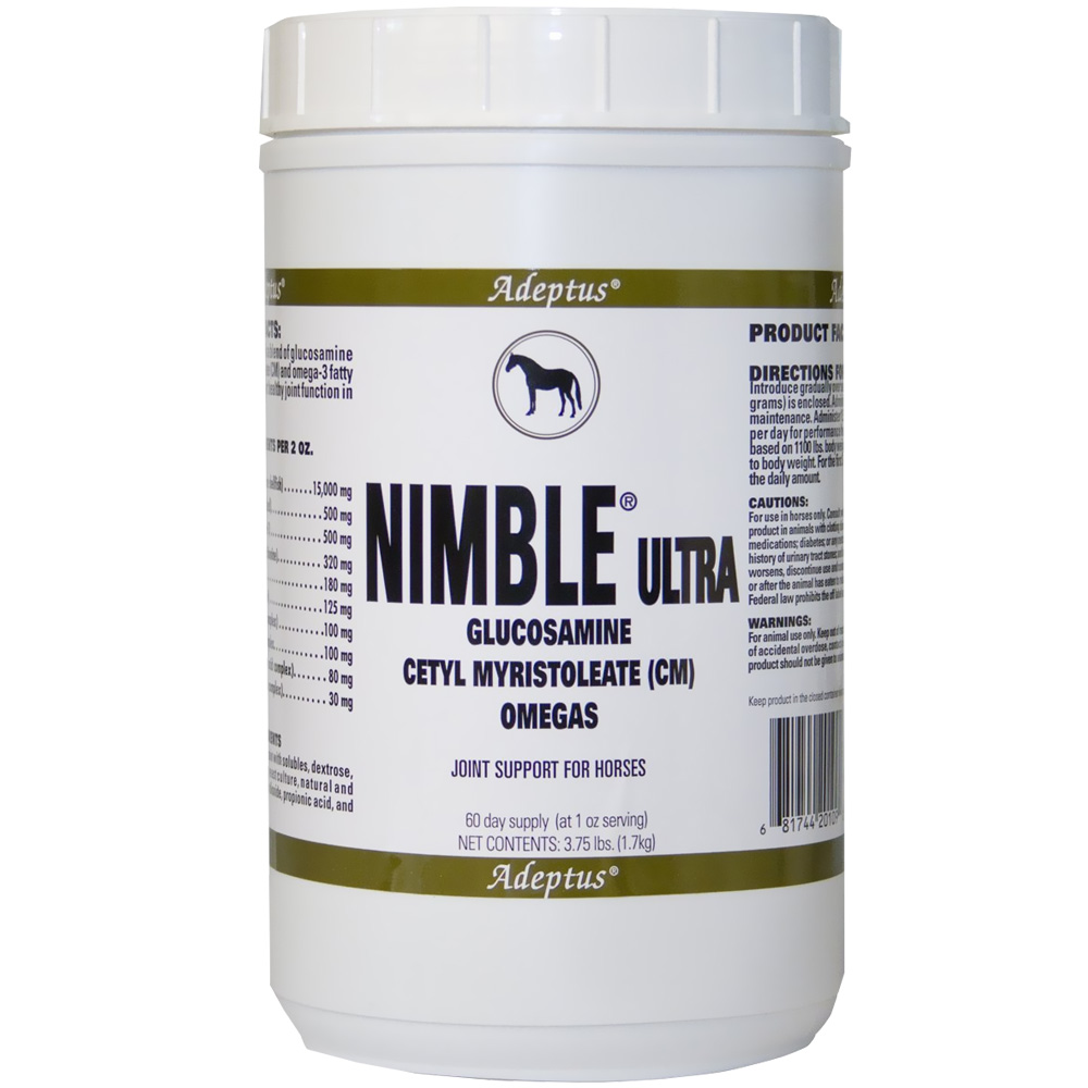 Adeptus Nimble Ultra Joint Support for Horses (3.75 lbs) im test