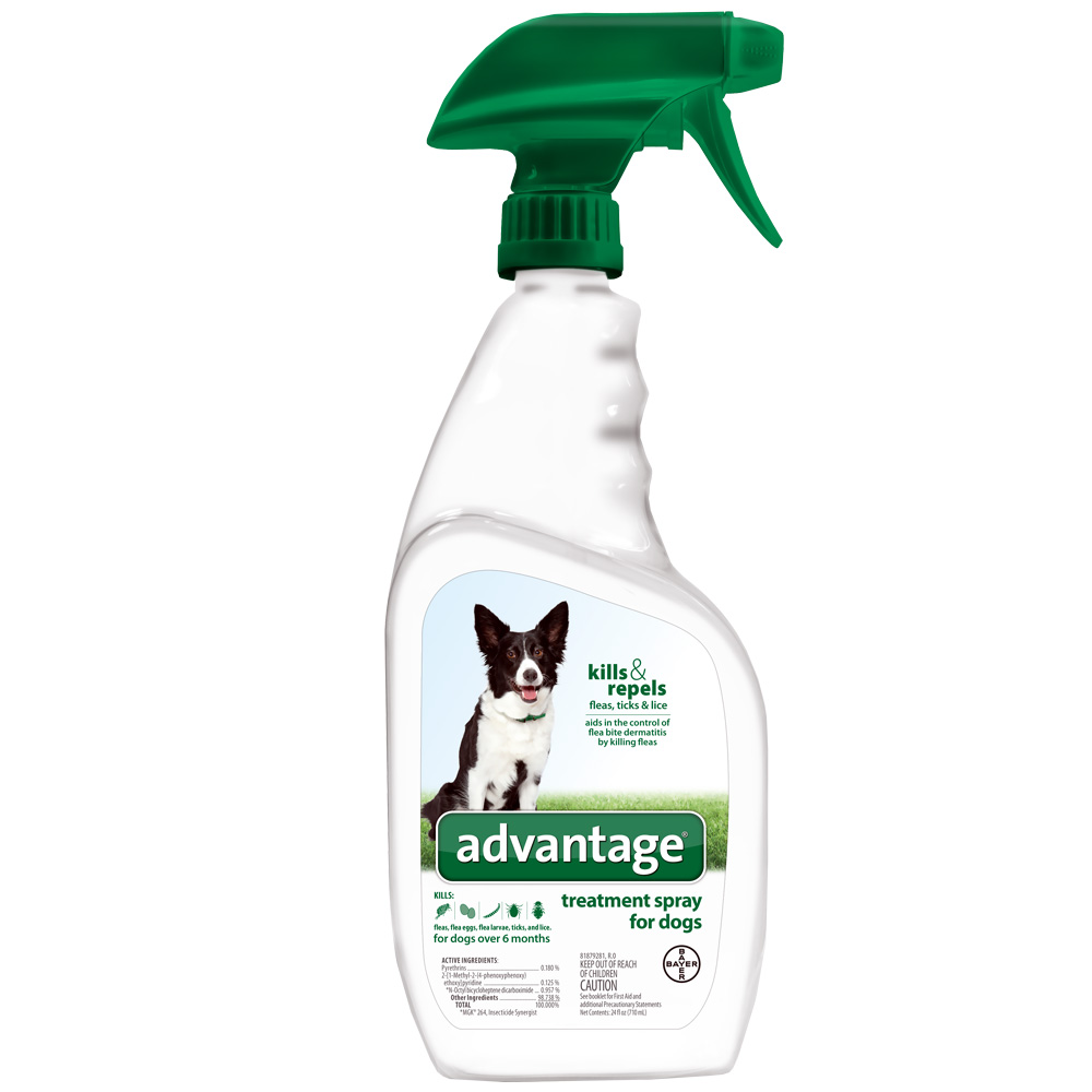 Image of Advantage Treatment Spray for Dogs (24 oz)