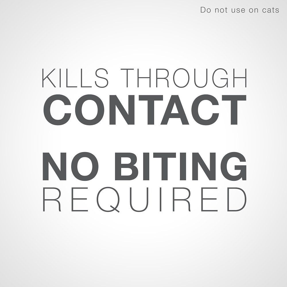 Banner reading kills through contact no biting required
