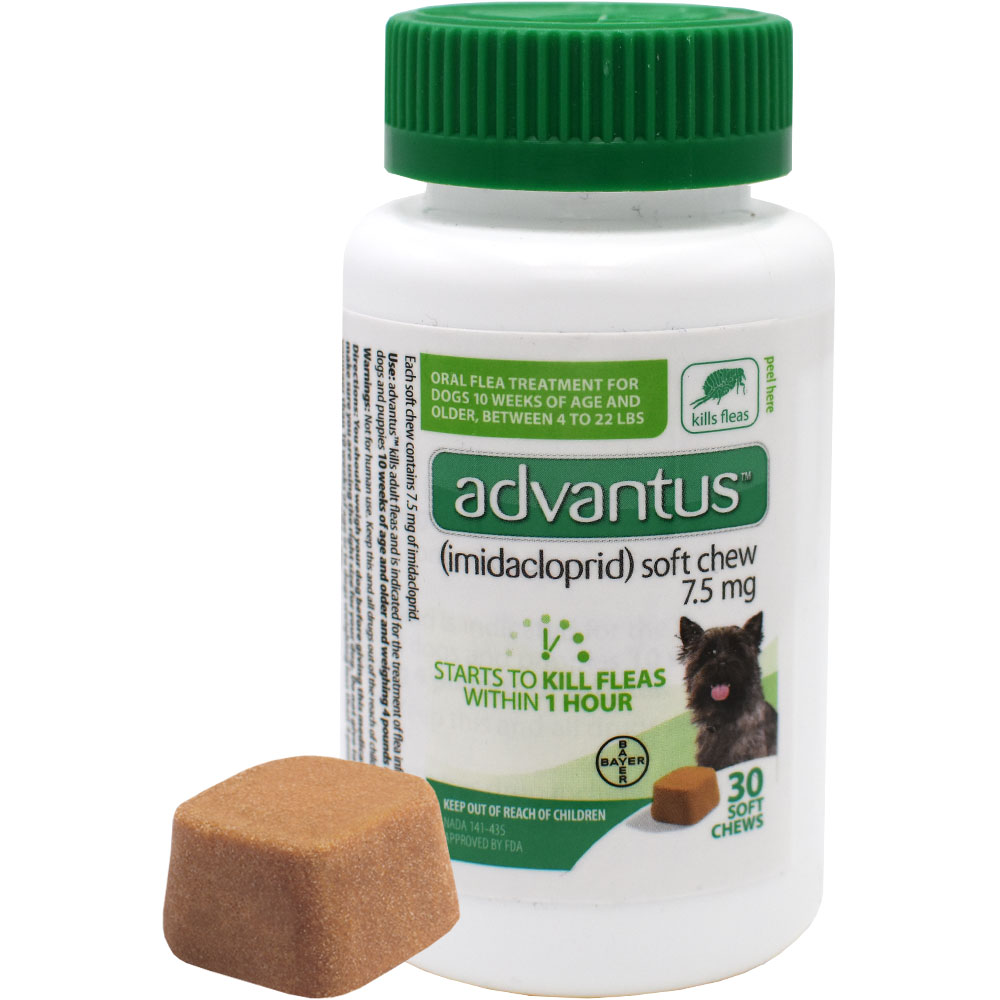 Advantus Oral Flea Soft Chews for Small Dogs (30 count) im test