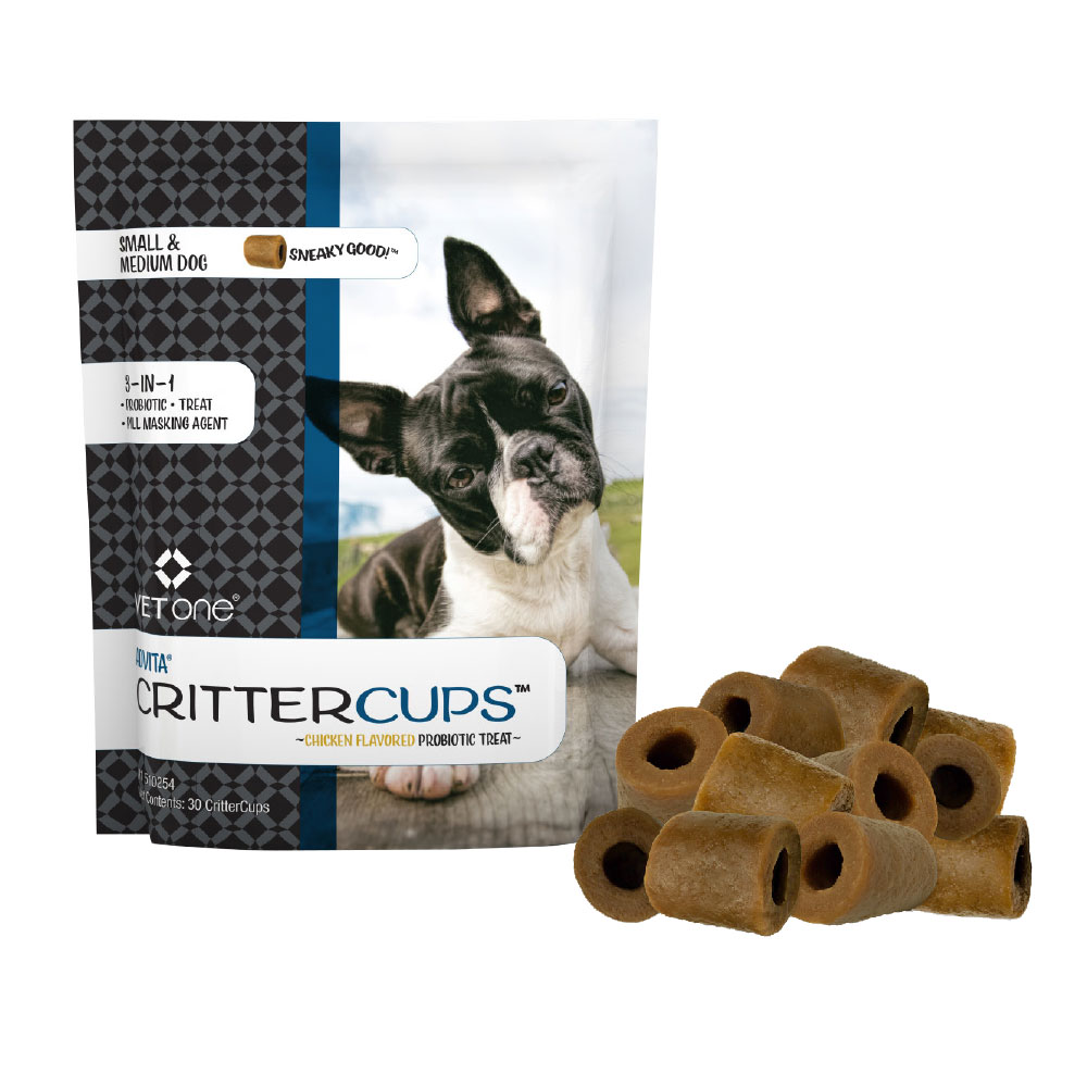 Advita CritterCups Probiotic Treat for Small and Medium Dogs - Chicken Flavor (30 Count) im test