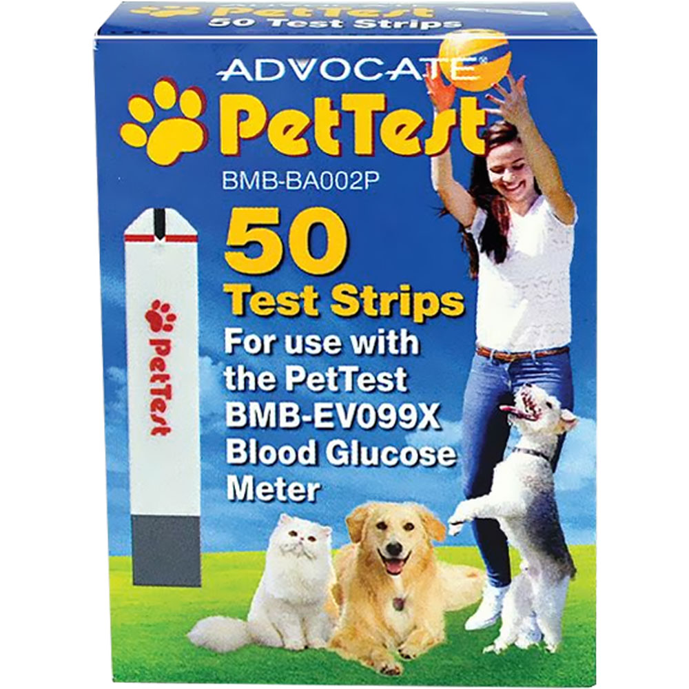 Advocate PetTest Strip - Box 50 count - from EntirelyPets