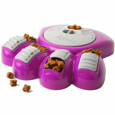 AIKIOU-ACTIVITY-FOOD-CENTER-DOGS-BROWN-FUCHSIA