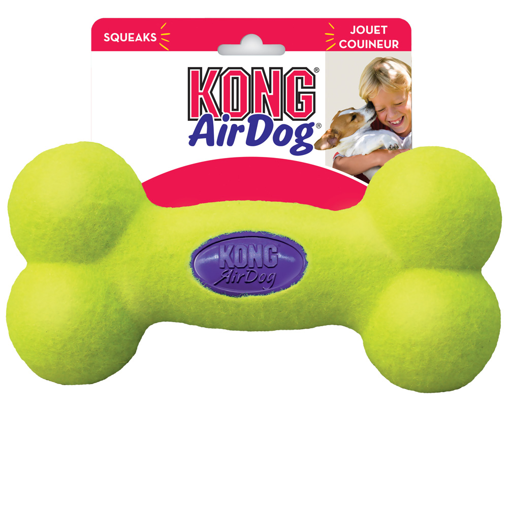 Air KONG Squeaker Bone - Medium im test