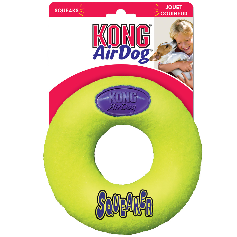 Air KONG Squeaker Donut - Large im test