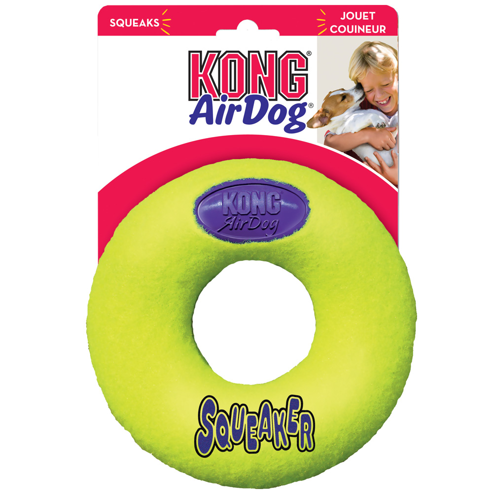 Air KONG Squeaker Donut - Medium im test